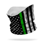 Essential Military Thin Green Line Wicking Neck Gaiter