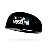 Everyday I'm Muscling Wicking Performance Headband
