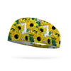 Fields of Sunflowers Wicking Performance Headband