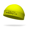 Find Your Happy Pace Wicking Ponytail Hat - Black Logo