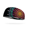 Fireburst Mandala Performance Wicking Headband