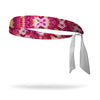 Firecracker Wicking Tie Back Headband