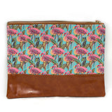 Flamingo Flock Pouch