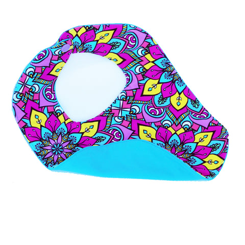 Neon Pink and Mint Static Kids Fashion Headband