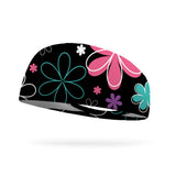 Floral Colorful Wicking Headband