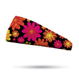 Floral Frenzy Performance Wicking Headband