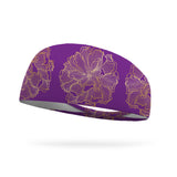 Flower Power Wicking Performance Headband (by Greta Blandford)