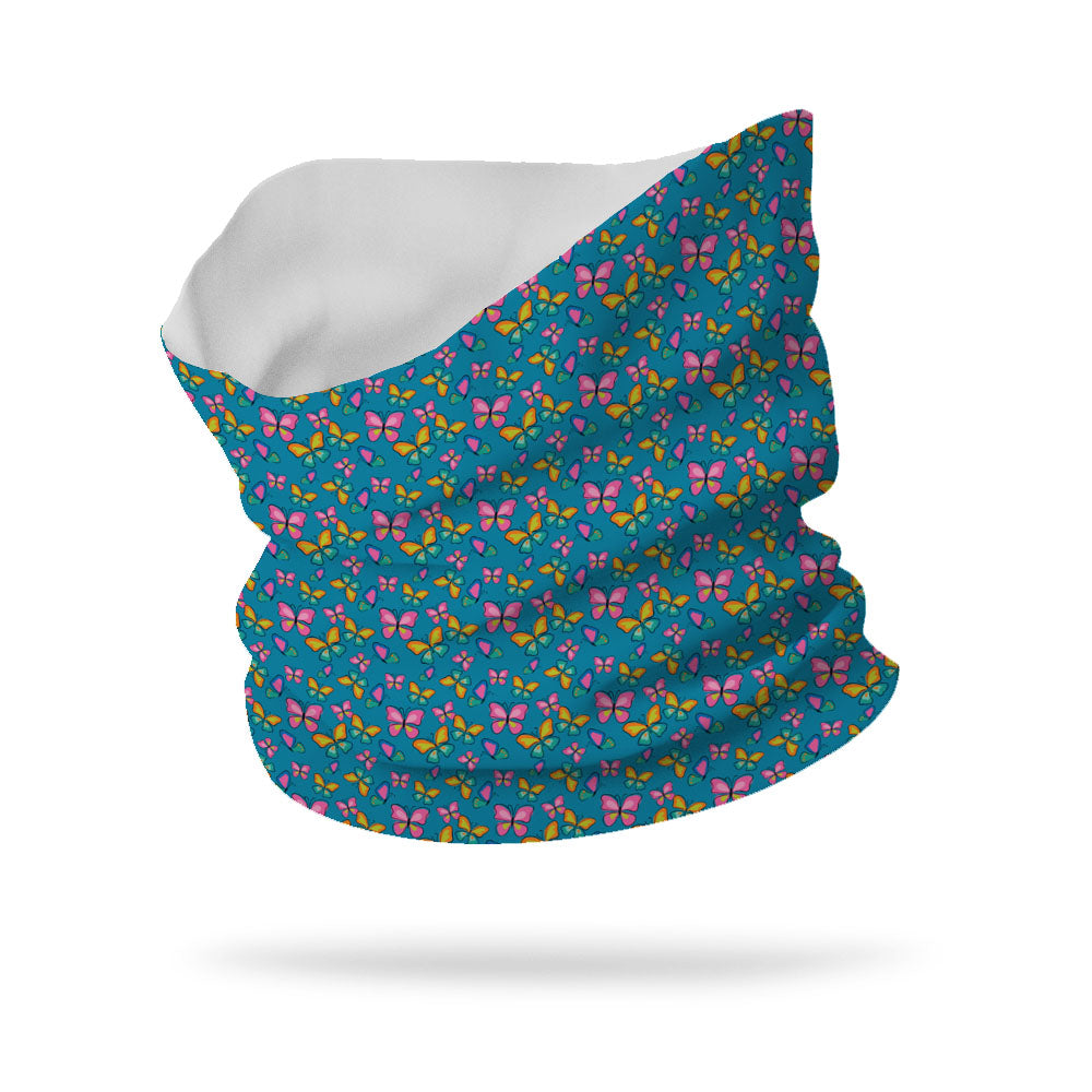 "Fly Butterfly Fly Wicking Neck Gaiter (12"" Length)"