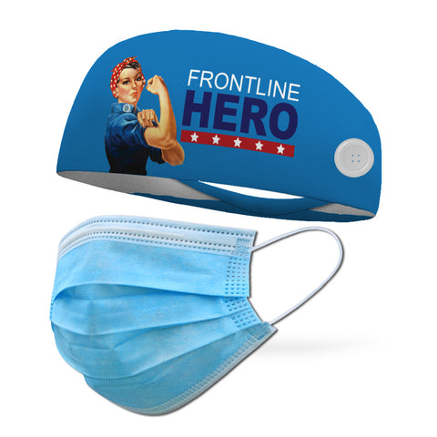 Run USA Performance Wicking Headband