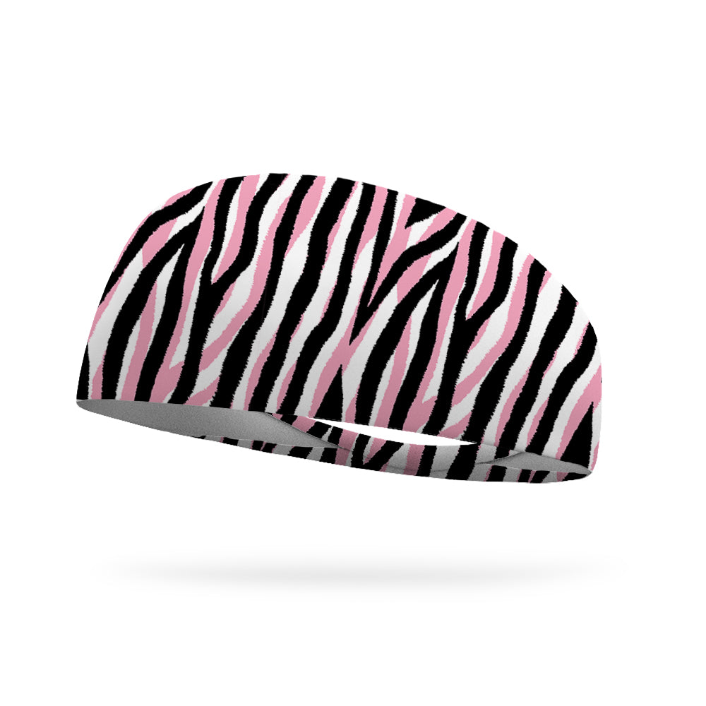 Furious Pink Wicking Performance Headband