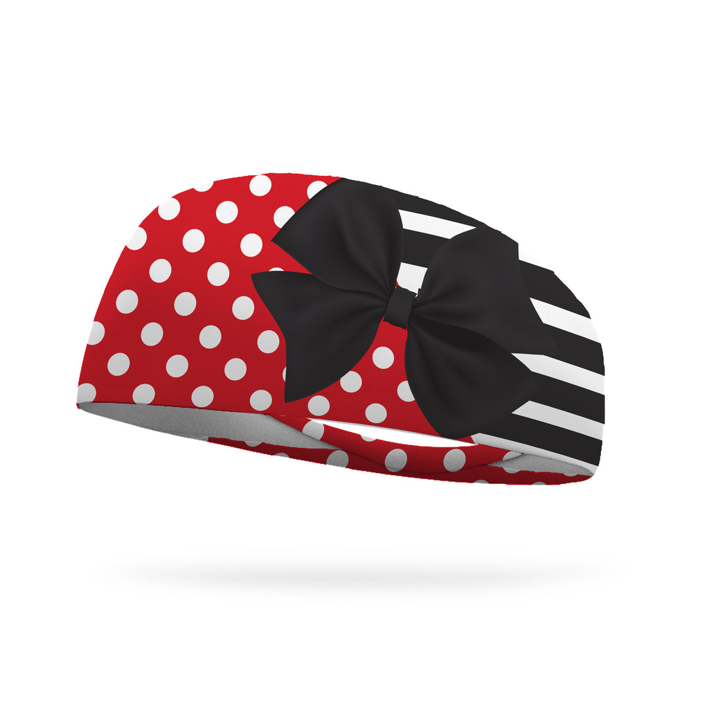 Fusion Minnie Dots Wicking Headband