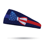 Fusion Patriotic Bow Performance Wicking Headband