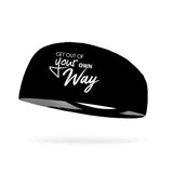 Get Out of Your Own Way Wicking Performance Headband