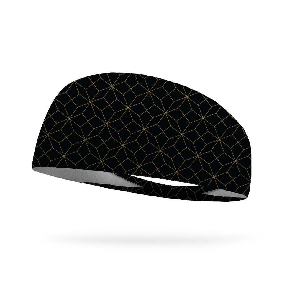 Golden Tiles Wicking Performance Headband