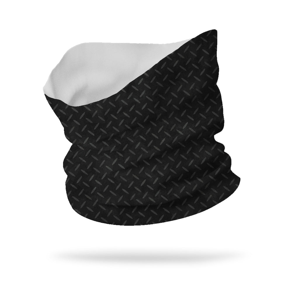 "Lycra Grid Plate Neck Gaiter (12"" length)"