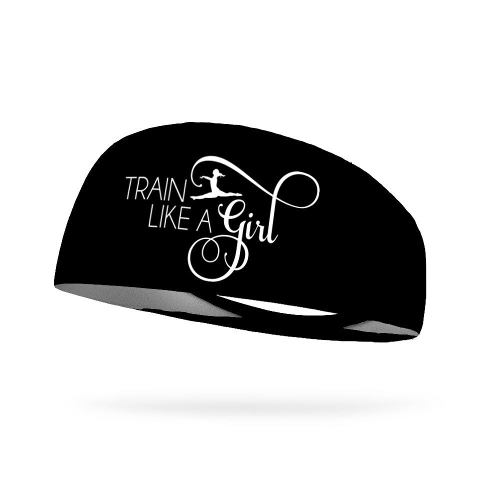 Gymnastics Train Like a Girl Wicking Performance Headband
