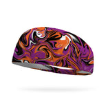 Halloween Swirls Wicking Performance Headband