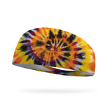 Halloween Tie Dye Wicking Performance Headband