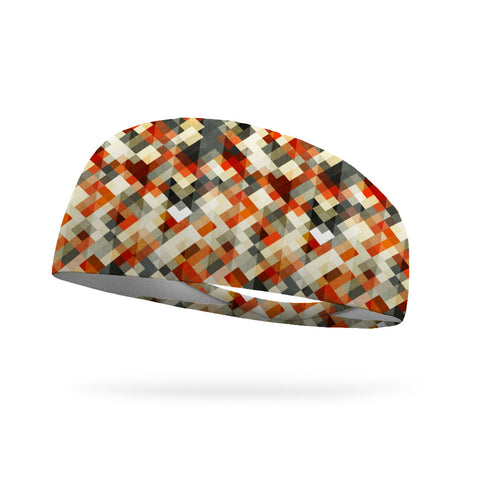 Glen Plaid Wicking Performance Headband