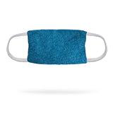 Heather Teal Face Mask