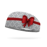 Holiday Princess Bow Wicking Performance Headband