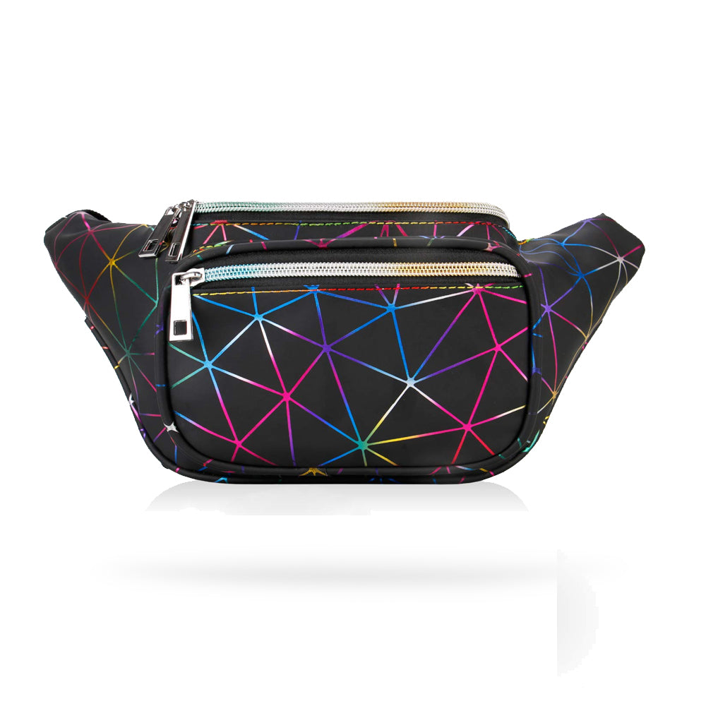 Holographic Techno Fashion Fanny Pack