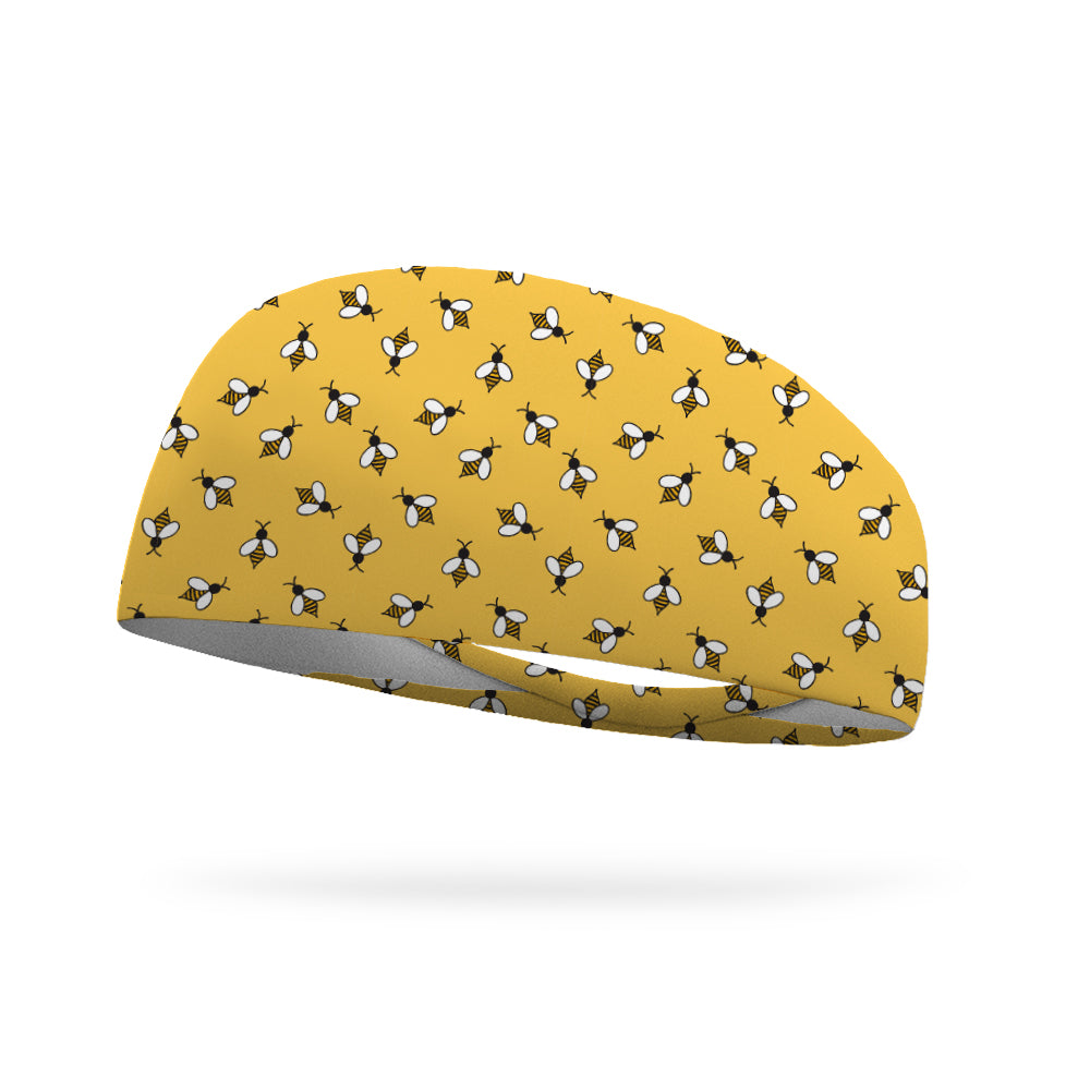 Honeybees Wicking Performance Headband (Designed by Anne Weiker)