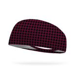 Houndstooth Wicking Performance Headband