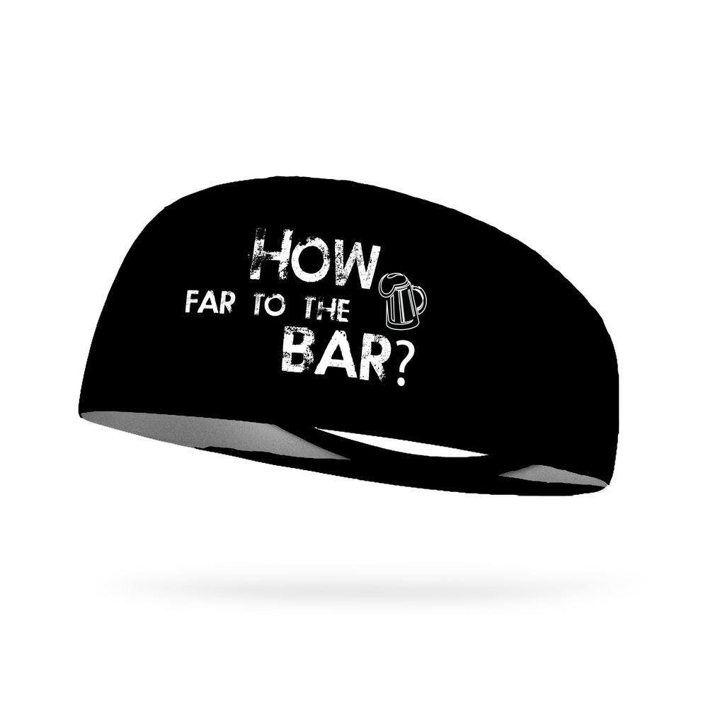 How Far to the Bar Wicking Performance Headband