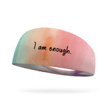 I Am Enough Wicking Performance Headband
