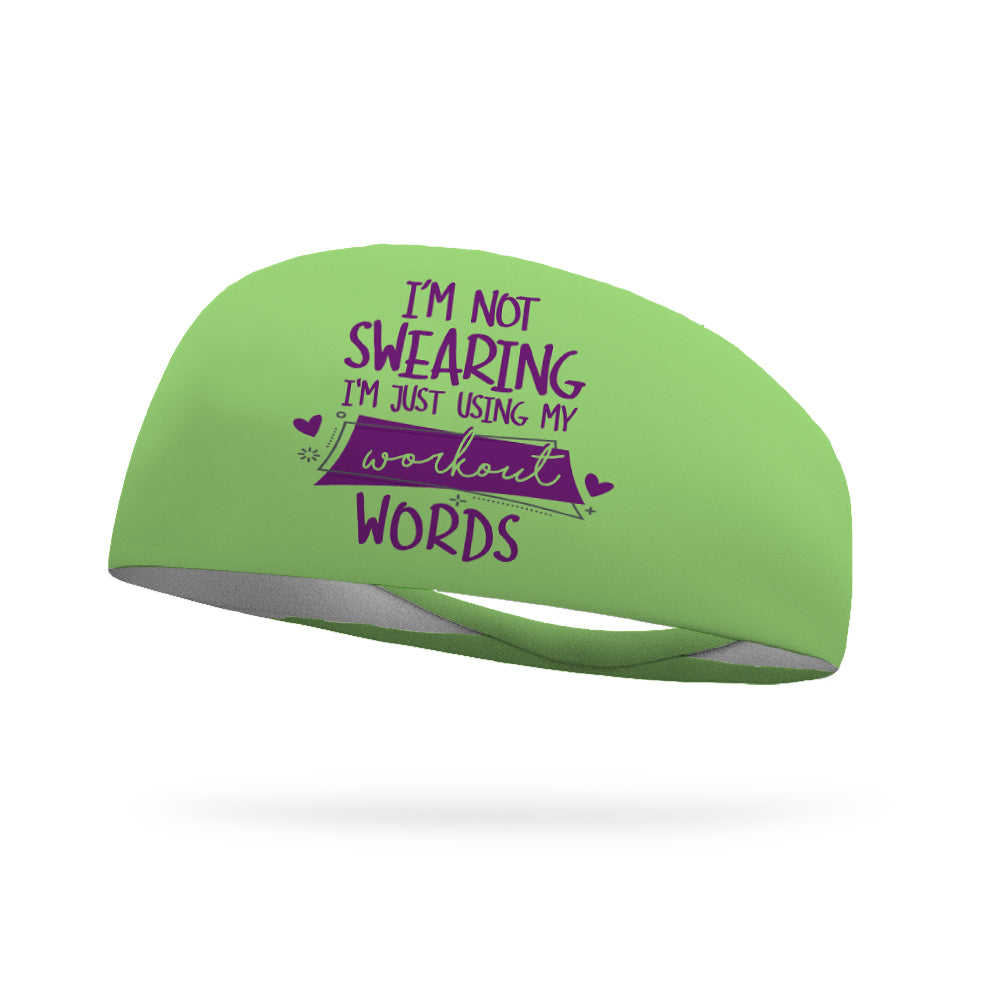 I'm Not Swearing Wicking Performance Headband (Designed by Denise Francis)