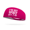 I've Got Spirit Yes I Do Performance Wicking Headband