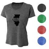 RUN Illinois Wicking T-Shirt Bondi Wear
