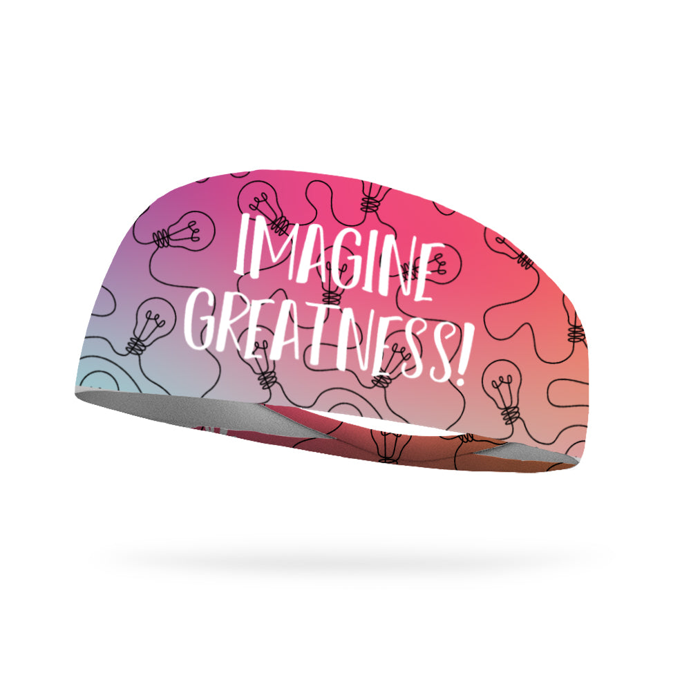 Imagine Greatness Wicking Performance Headband