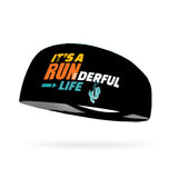 It's a RUNderful Life Performance Wicking Headband