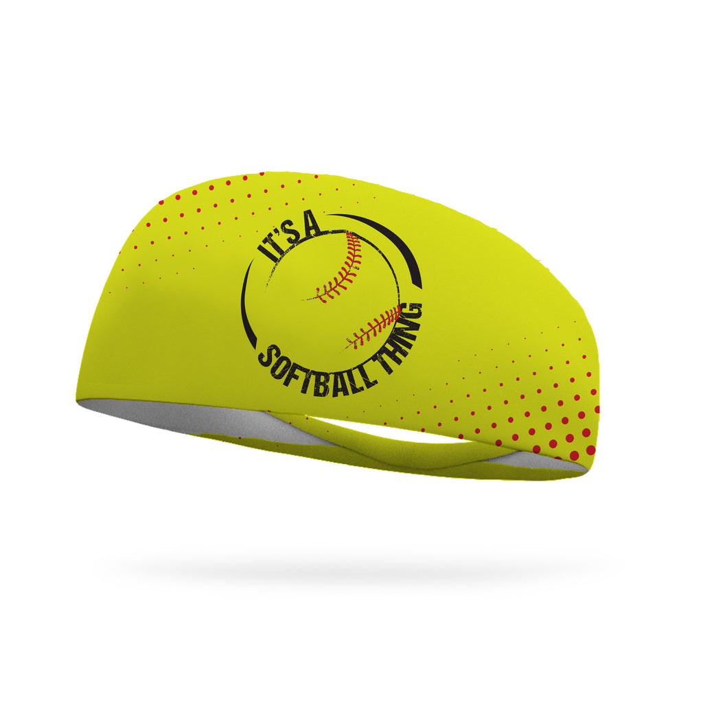 It's a Softball Thing Performance Wicking Headband