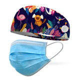 Jungle Animals Wicking Performance Headband