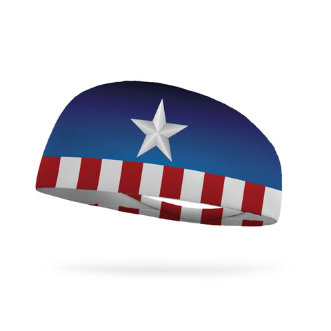 American Confetti Performance Wicking Headband