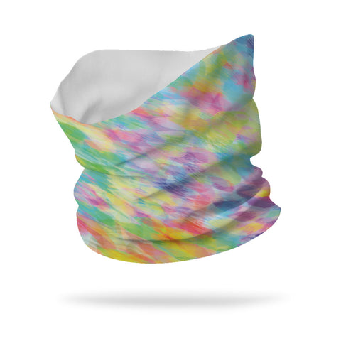 "Lycra KIDS Feather Princess Single Layer Neck Gaiter Face Mask (12"" Length Gaiter)"