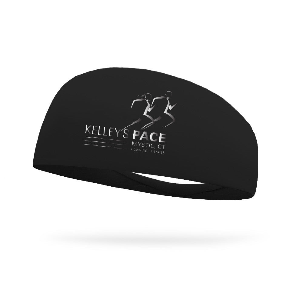Solid Wicking Headband with Reflective Ink (Customizable)