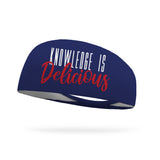Knowledge is Delicious Wicking Performance Headband