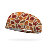 Leaves and Acorns Wicking Performance Headband