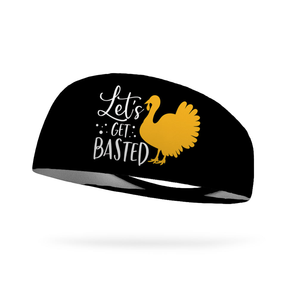 Let's Get Basted Wicking Performance Headband