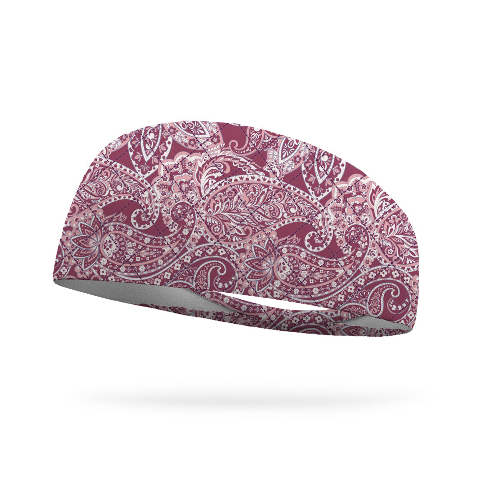 Like Vera Pink Whimsy Wicking Performance Headband