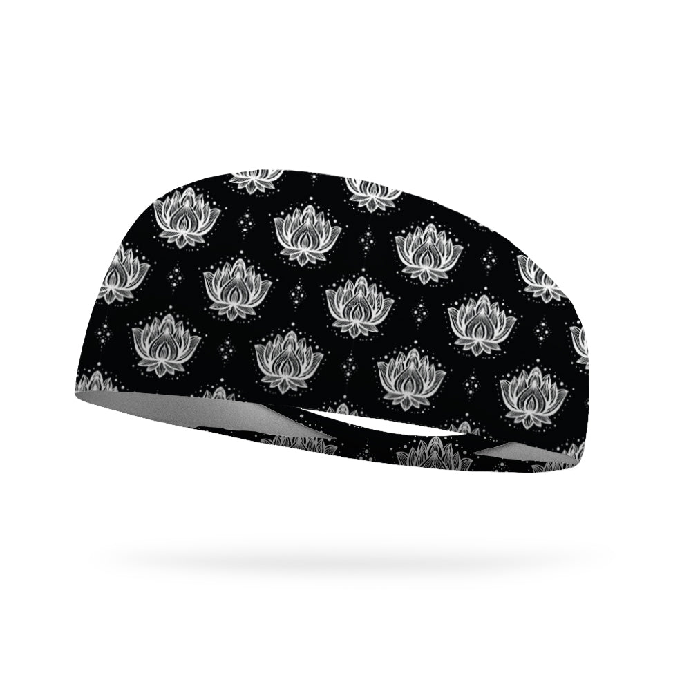 Lotus Flower Wicking Performance Headband