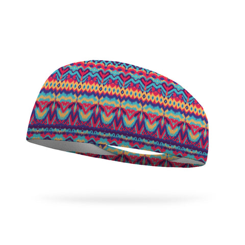 Groovy Colors Wicking Performance Headband