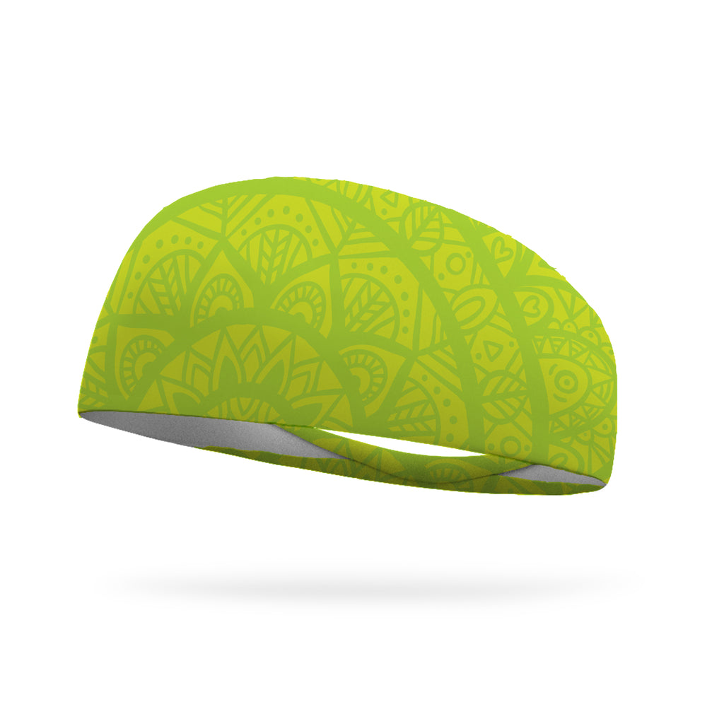 Mellow Yellow Wicking Performance Headband