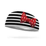 Fusion Minnie Stripes Wicking Headband