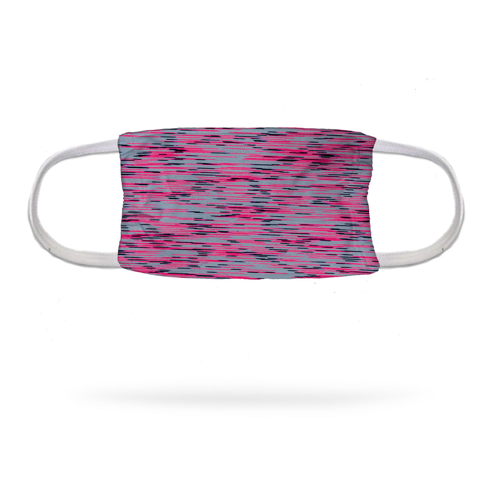 Static Mint Pink Face Mask