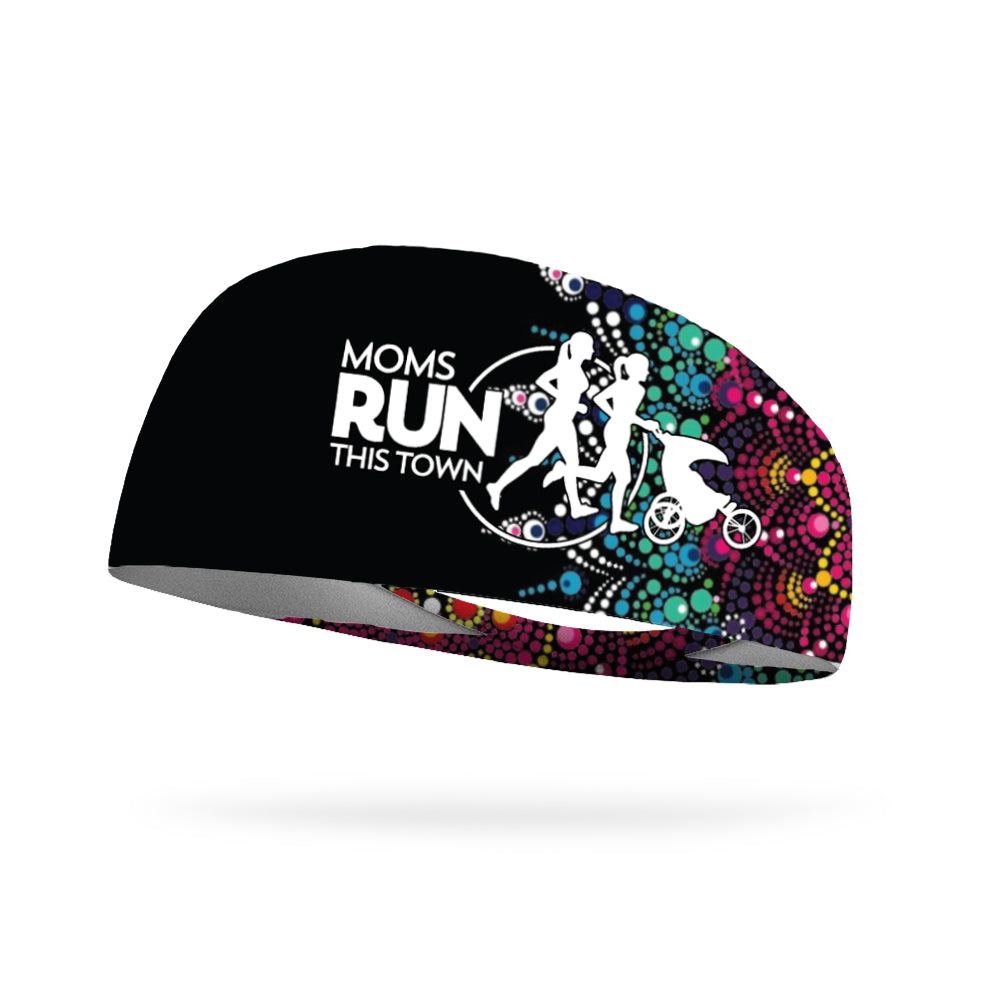MRTT Fireburst Mandala Wicking Performance Headband